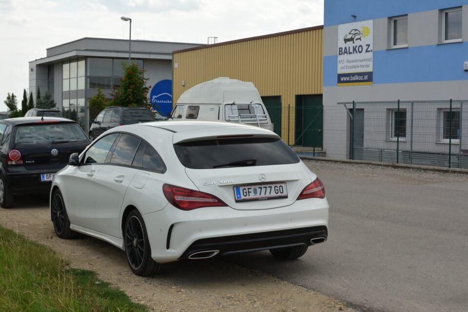 Balko Z Mercedes CLA Reparatur Werkstatt